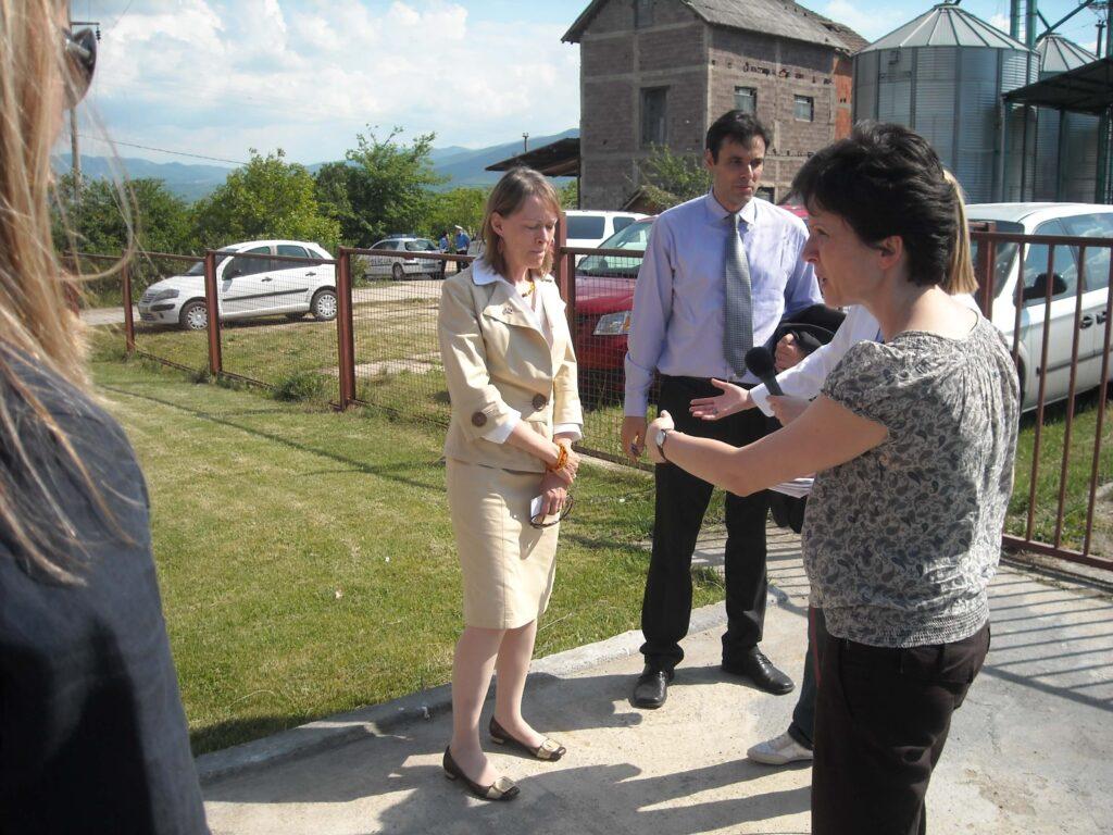 Poseta Ambasadora SAD gospodjeMeri Vorlik slika 2 │ Fabrika pekarskih proizvoda Danija