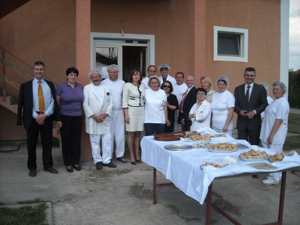 Poseta Ambasadora SAD gospodjeMeri Vorlik slika 3 │ Fabrika pekarskih proizvoda Danija