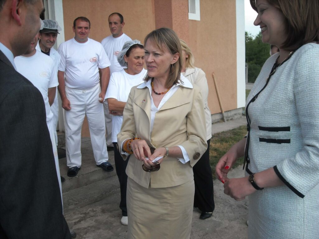Poseta Ambasadora SAD gospodje Meri Vorlik slika 4 │ Fabrika pekarskih proizvoda Danija