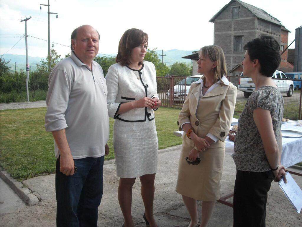 Poseta Ambasadora SAD gospodje Meri Vorlik slika 5 │ Fabrika pekarskih proizvoda Danija