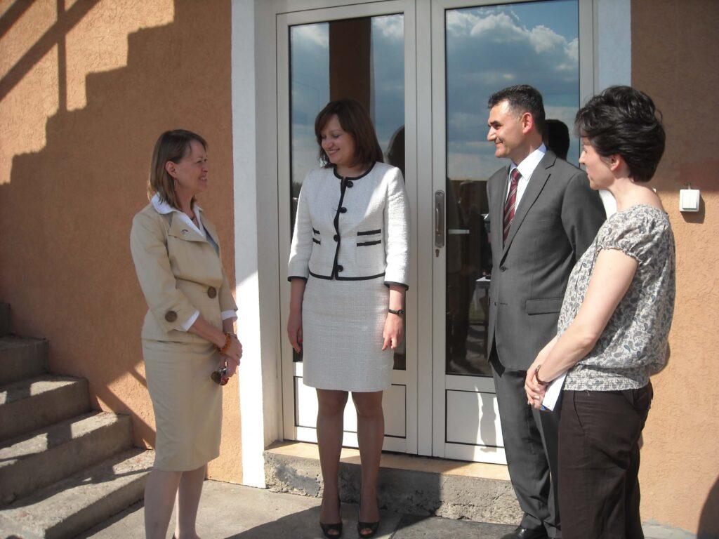 Poseta Ambasadora SAD gospodje Meri Vorlik slika 6 │ Fabrika pekarskih proizvoda Danija